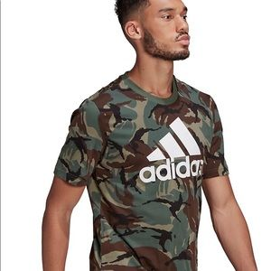 Adidas athleisure men's camo t-shirt